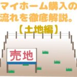 マイホーム購入の流れ【土地編】